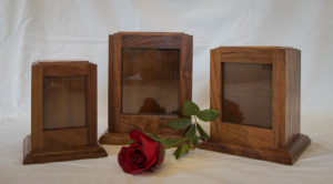Timber Photo Urns